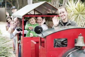 Train Rides at the Macadamia Castles