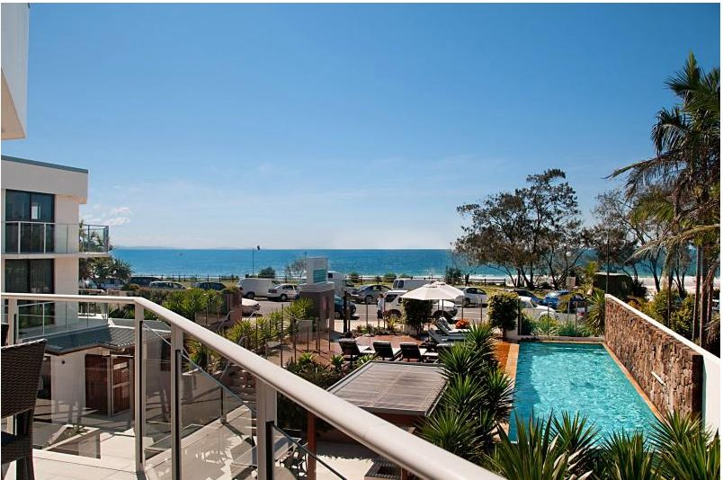Ocean view from 10/22 Bay St Byron Bay