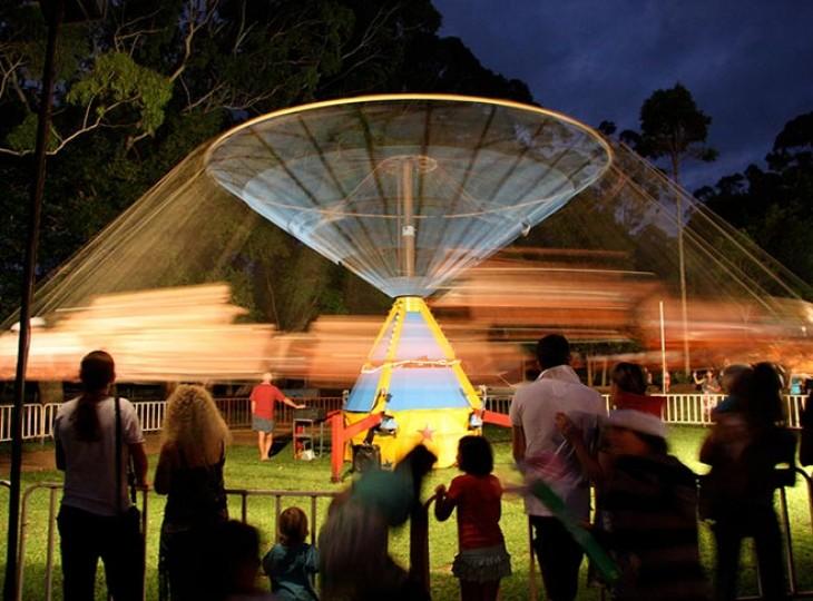 Christmas Eve celebrations in Bangalow, NSW